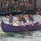 Venedig - Übungseinheit auf dem Canal Grande