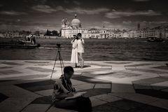 Venedig und  die Selfys