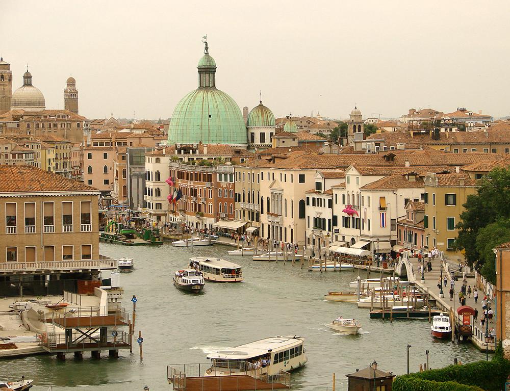 venedig von oben foto bild europe italy vatican city. Black Bedroom Furniture Sets. Home Design Ideas