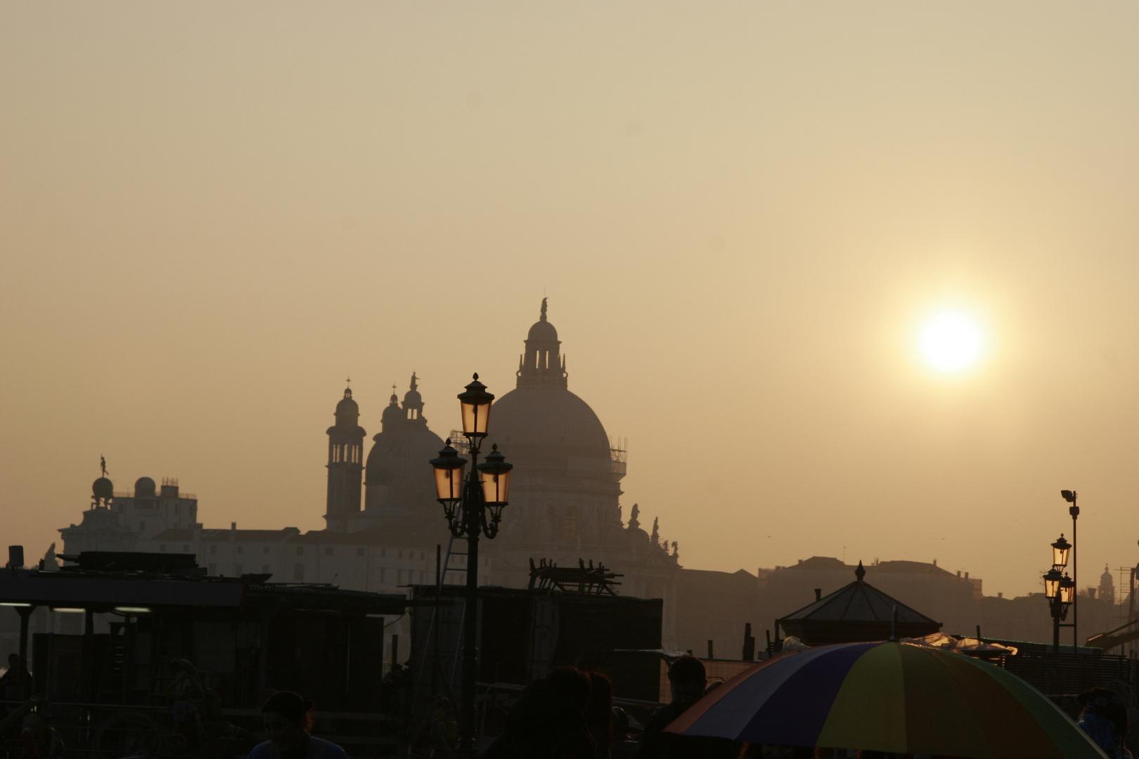 Venedig vor Sonnenuntergang