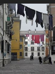Venedig wäscht