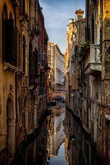 Venedig = Wasser = Spiegelung
