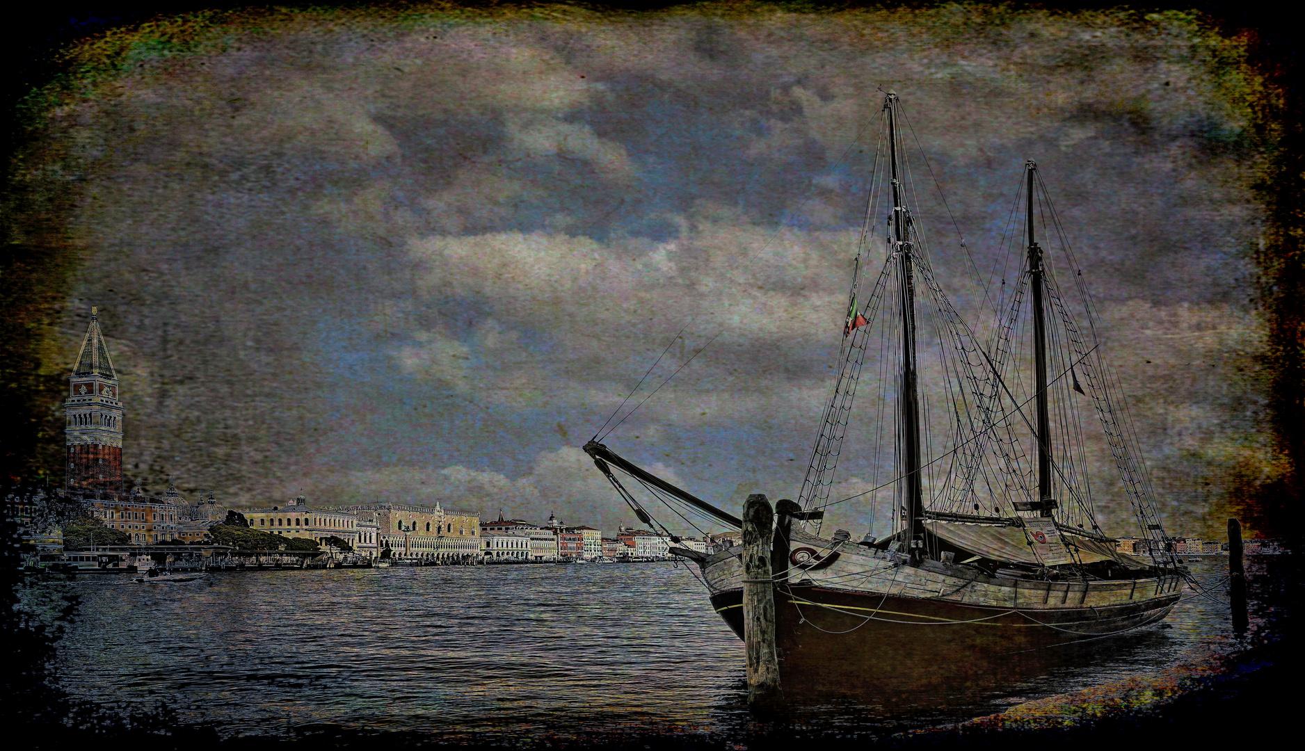 Venedig   - Wie aus vergangenen Zeiten -