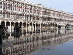 "Venedigs ""Aqua Alta"": der Beginn"