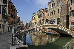 Venedigs Brücken - DIENSTAG ist Spiegeltag - Dazumal