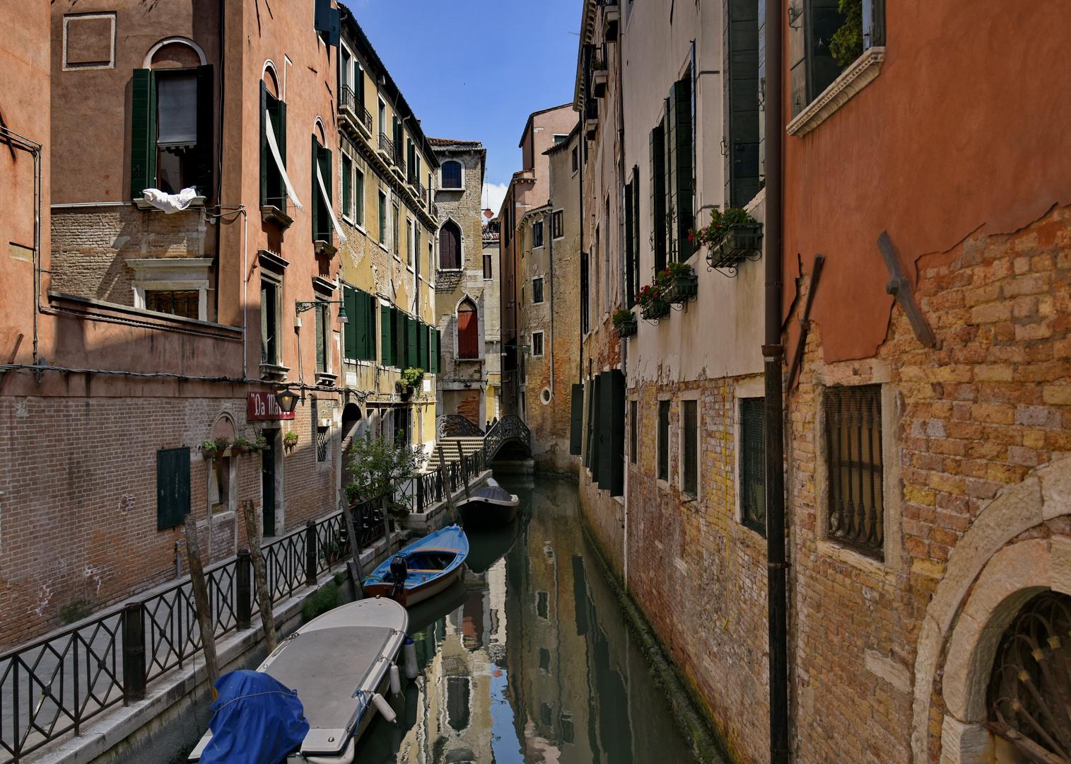 Venedigs menschenleere Gassen