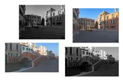 Venezia citta d'arte. Vista, sognata