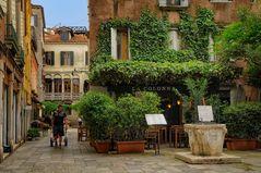 Venezia LA COLLONA - romantisch speisen -