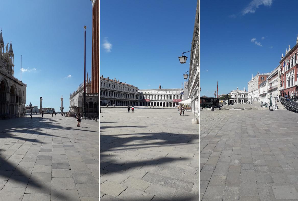 Venezia , questa mattina