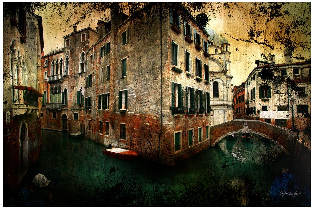 """Venezia rio dei miracoli"""" serie profumo antico"""""""