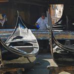 Venezia : Squero ( Gondola workshop...)