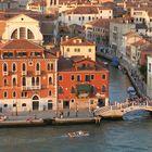 Venezia vista da nave di crociera