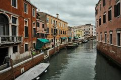 Venezia zauberhaft im Regen