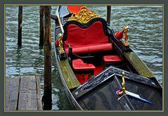 Venezianische Gondel