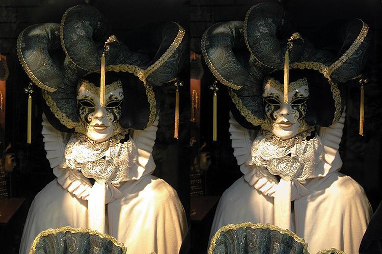 venezianische Maske 3D