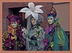 Venezianische Masken - 2 -