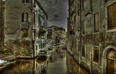 venezianische Wasserwege