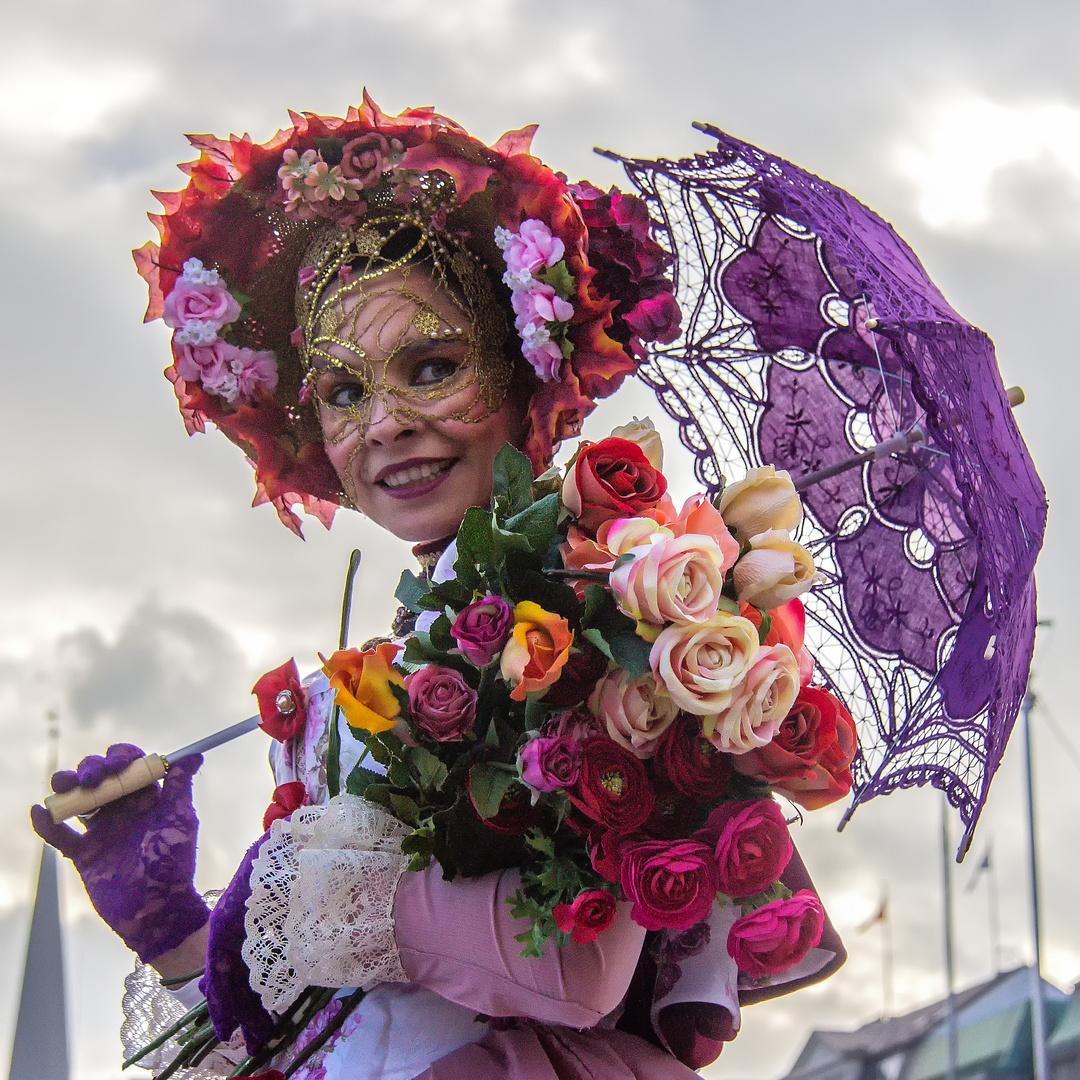 Venezianischer Maskenzauber in Hamburg 2018