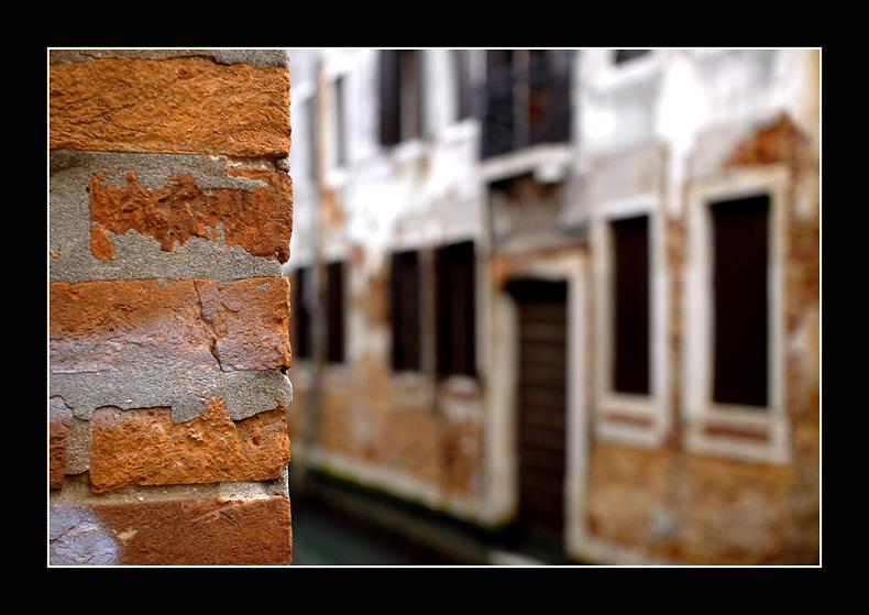 Venezianisches Mauerwerk