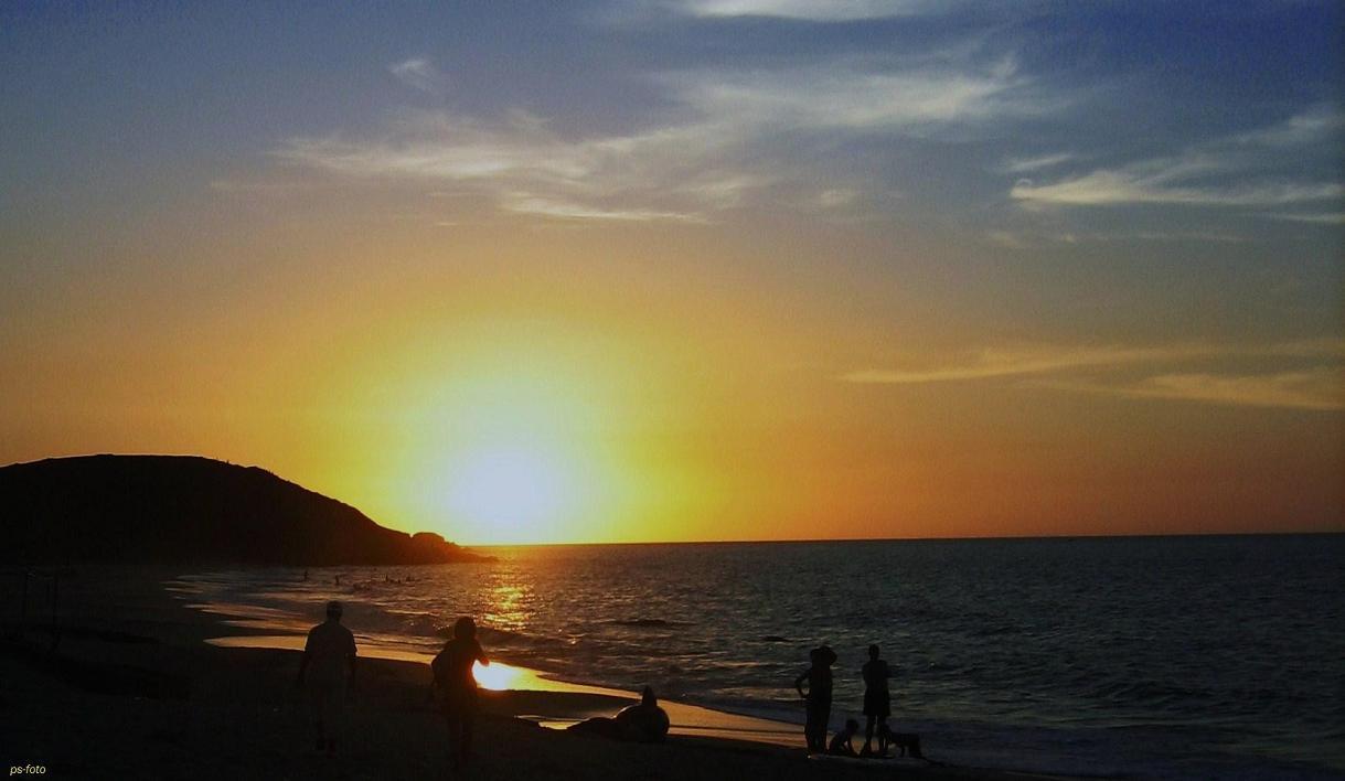 Venezuela Sonnenuntergang ....