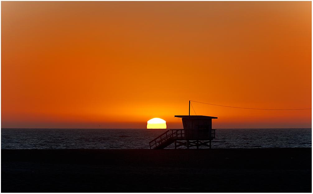 ** Venice Beach Sundown *