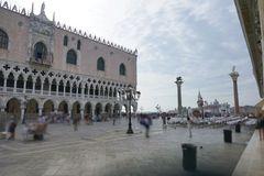 Venice faded people