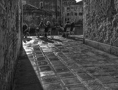 Venise par temps froid