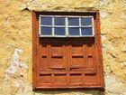 ventana en pared