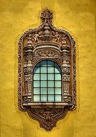 Ventanal de la Capilla de Nuestra Señora de Aranzazú San Luis Potosí México