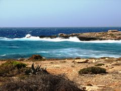 Vento di scirocco a Lampedusa
