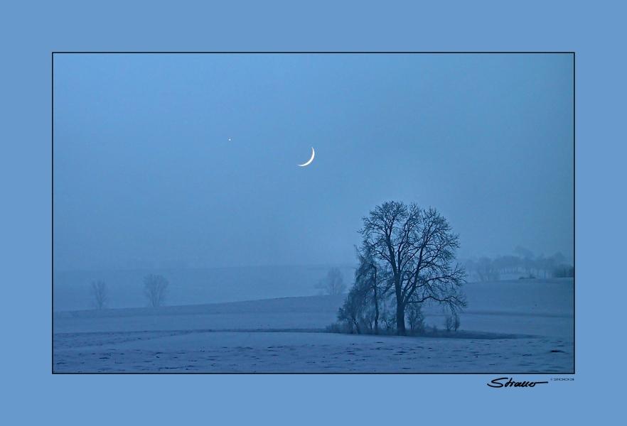 venus meets moon