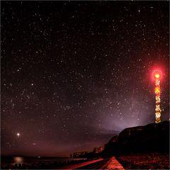 Venus über Helgoland...