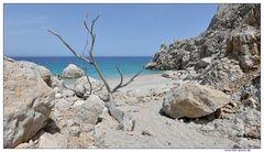 Verborgener Strand af Karpathos