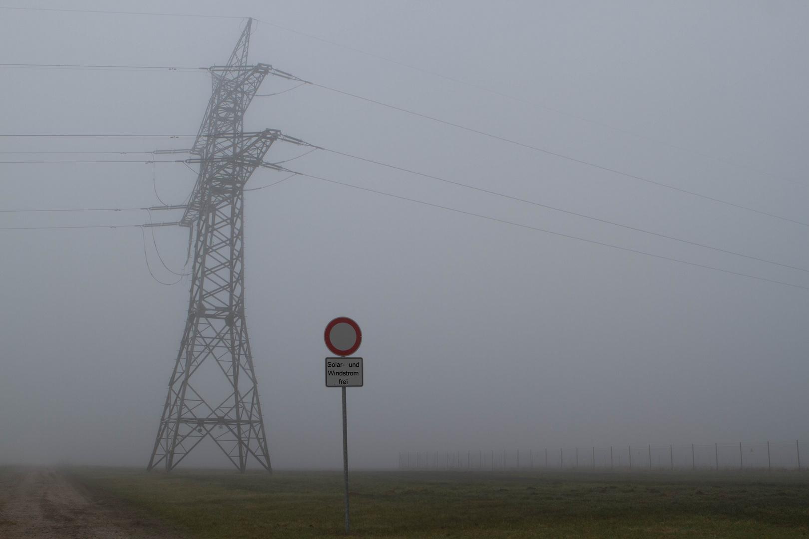 verboten für Atomstrom