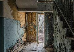 verbotene Stadt - im Treppenhaus II