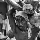 Verbrennungs Ghats Varanasi, Indien