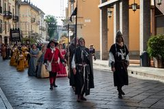 Vercelli, corteo Storico