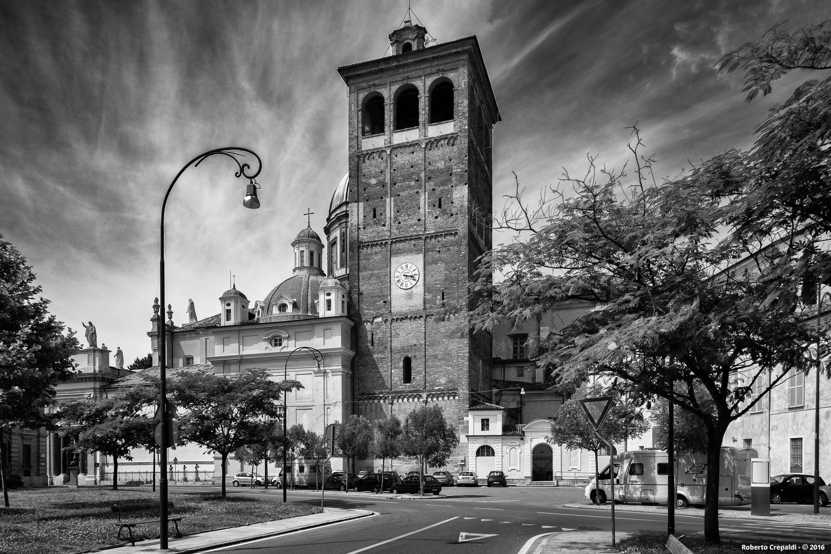 Vercelli, il campanile del Duomo
