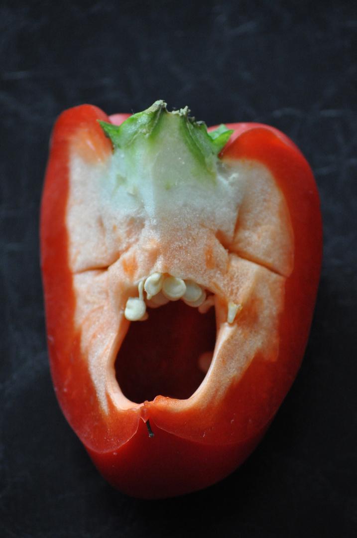Verdammt wütende Paprika