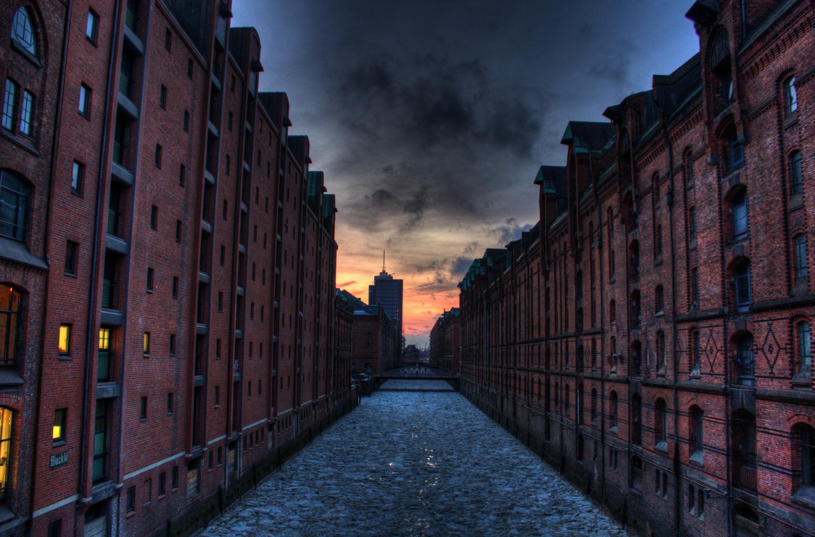 Vereiste Speicherstadt - Hamburg