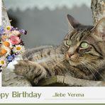 Verena hat Geburtstag