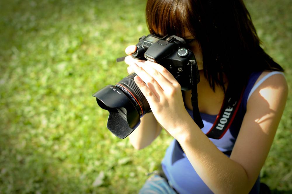 Verena mit Canon