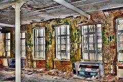 Verfall eines Bauwerks