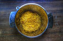 Verfall, meine Spaghetti von Donnerstag