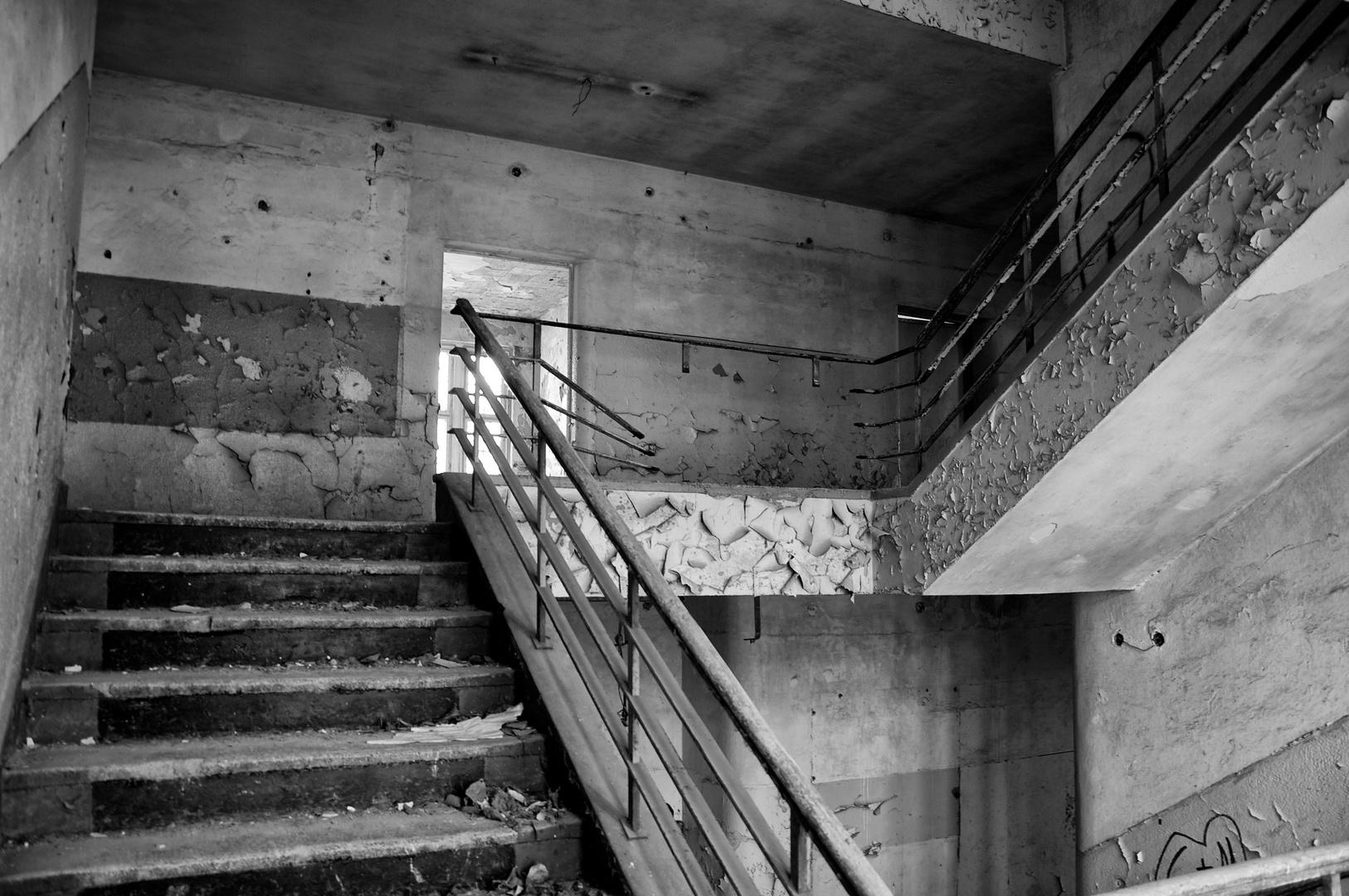 Verfall und die Stufen