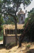 Verfallene Benediktiner-Abtei
