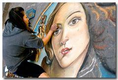.....vergängliche Kunst in Florenz