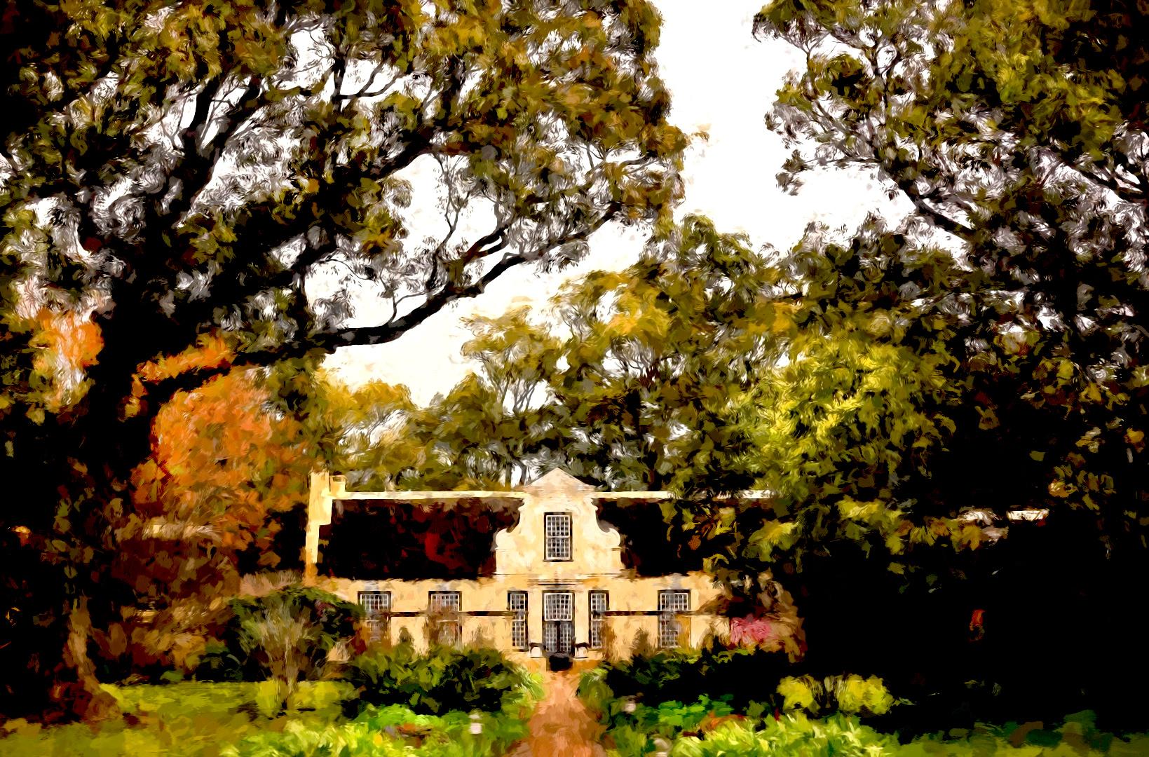 VERGELEGEN MANOR HOUSE