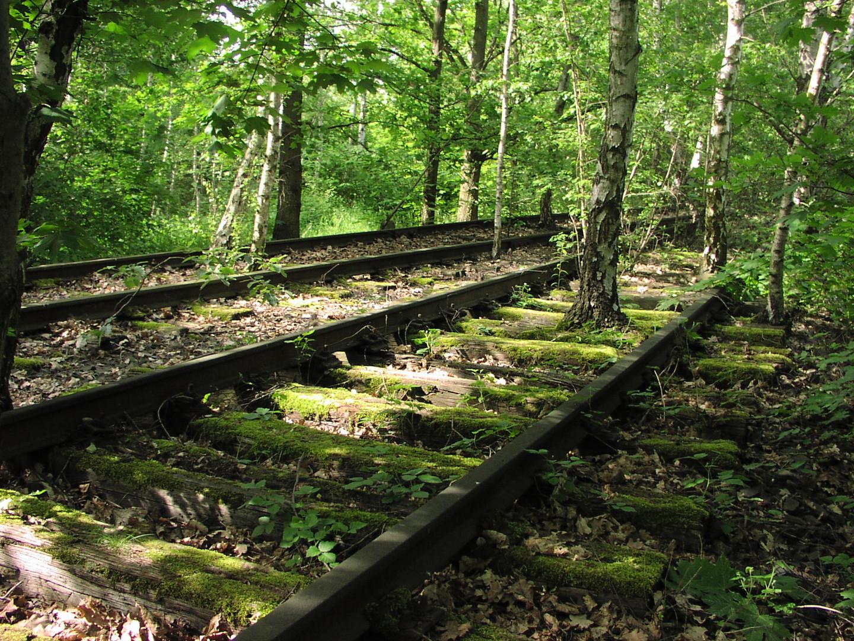 vergessene Welt des Schienenstrangs