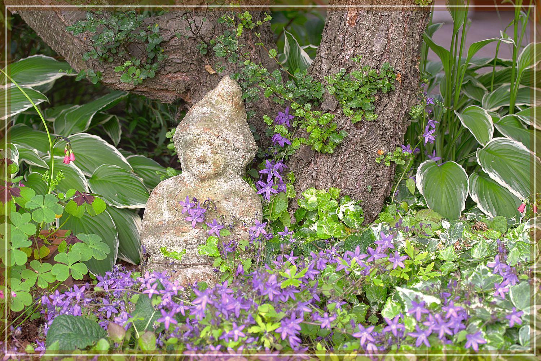 Vergessener Gartenzwerg
